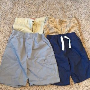 4 pair boys shorts size 5